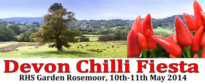Devon Chilli Fiesta, 10th & 11th May 2014 - RHS Garden Rosemoor