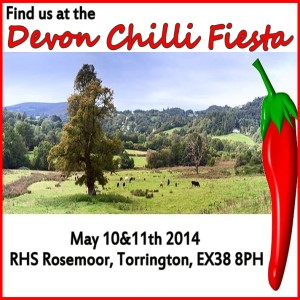 Devon chilli fiesta May 2014