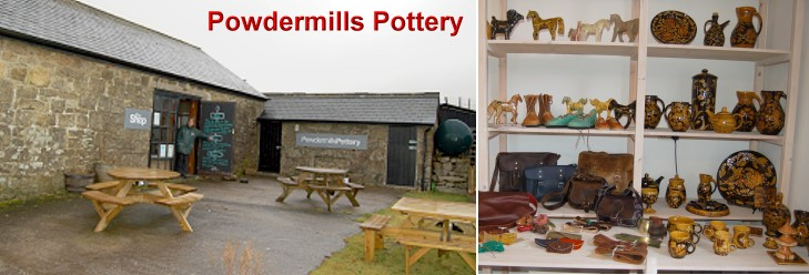 Powder Mills Pottery, Postbridge, Dartmoor