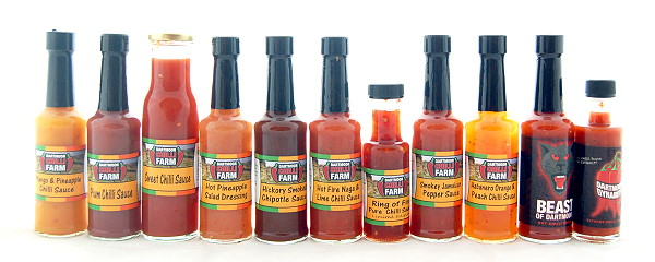 Our sauce range