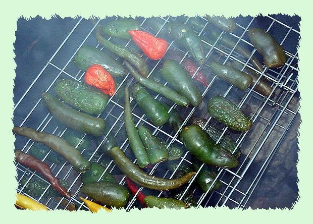 smoking chillies