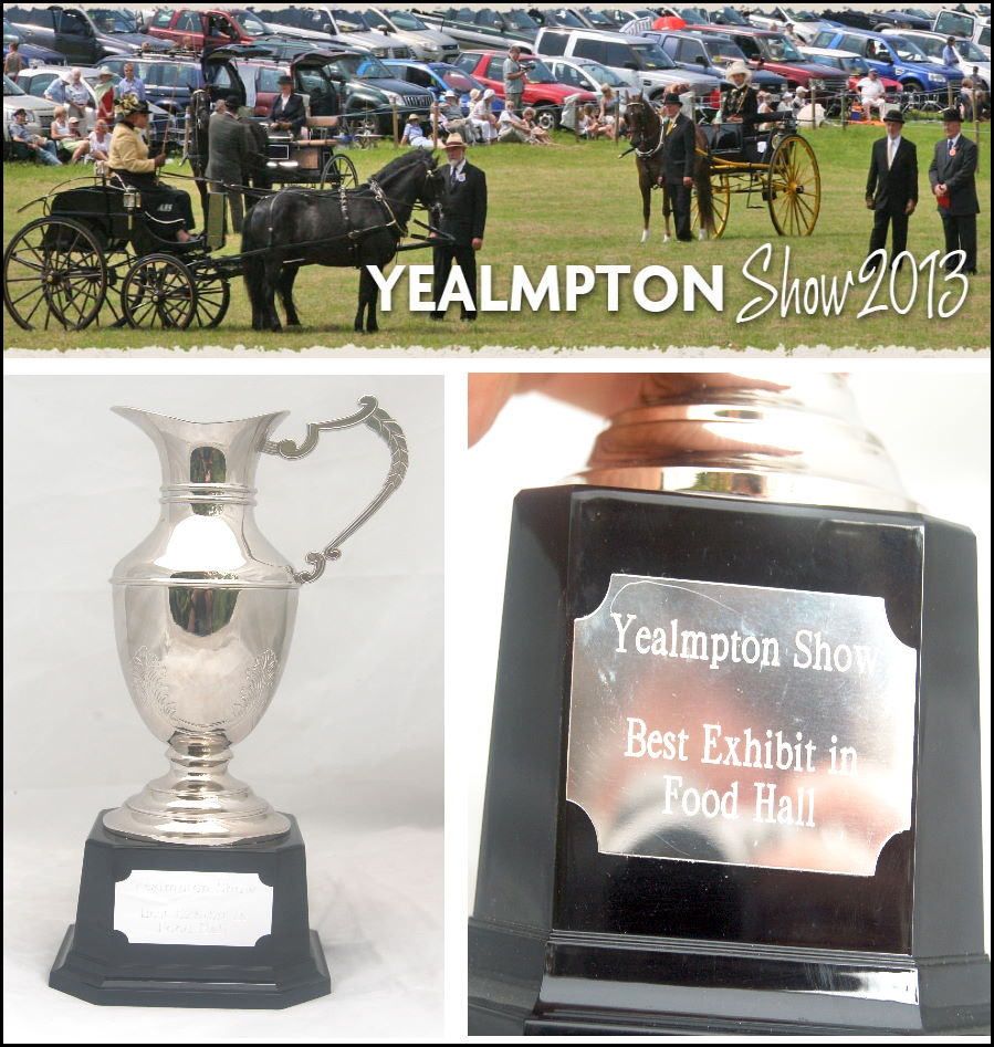 Yealmpton show - best food hall exhibit 2013