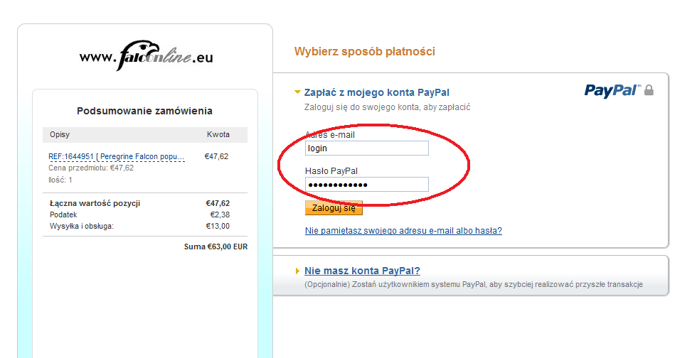 If you have a PayPal account just log in and the webpage will be switched to your preferred language automatically