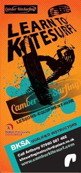 camber kitesurfing lessons