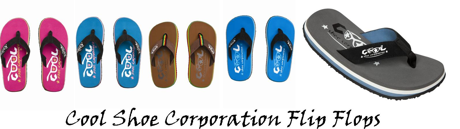 cool shoe corporation flip flops