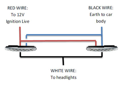 dolphin daytime running lights drls rh dolphin automotive co uk Light Wiring Diagrams Multiple Lights Light and Outlet Wiring Diagrams
