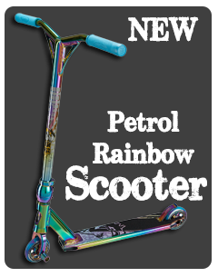 Rainbow Scooter