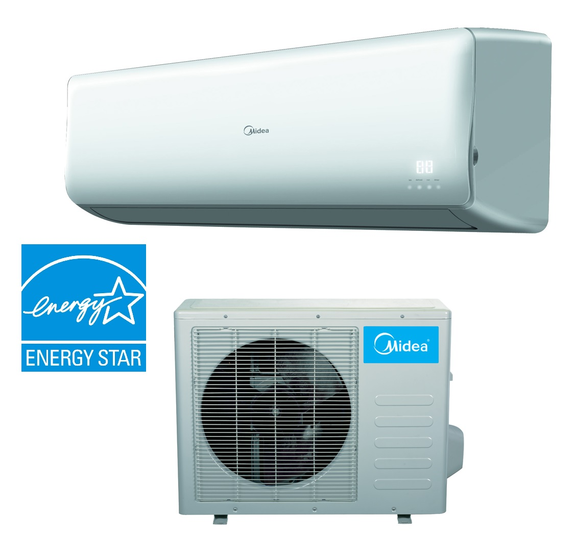 18 000 Btu 21 SEER Inverter Mini Split Heat Pump AC Energy Star #0485C7