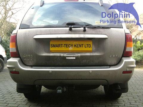 Rear installation in bumper