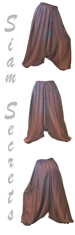 Luxury Brown Harem Baloon Pants