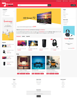 Pursuit - Homepage