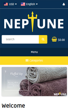 Neptunev2 Mobile Homepage