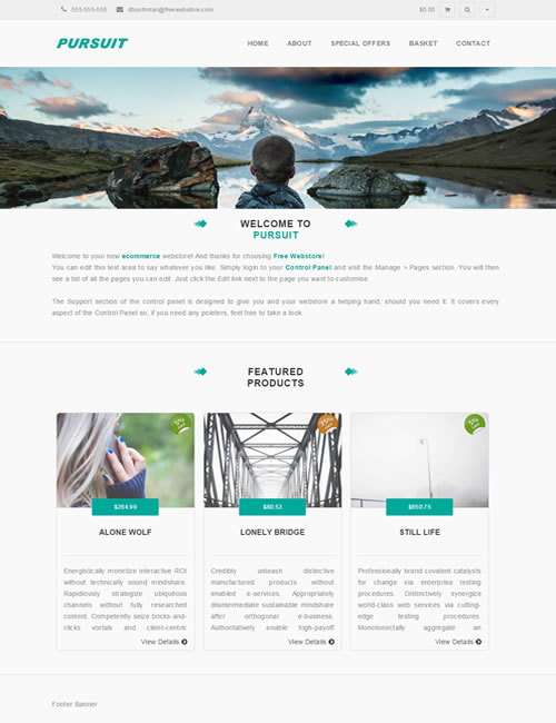 Pursuit Homepage