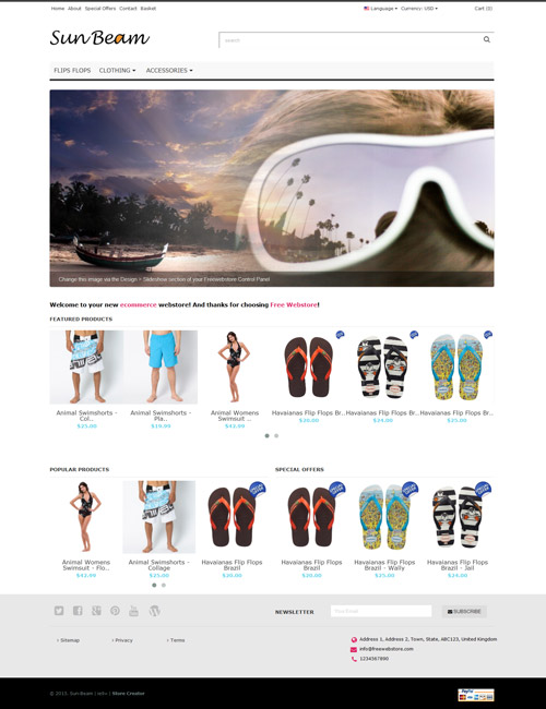 Sunbeam Homepage