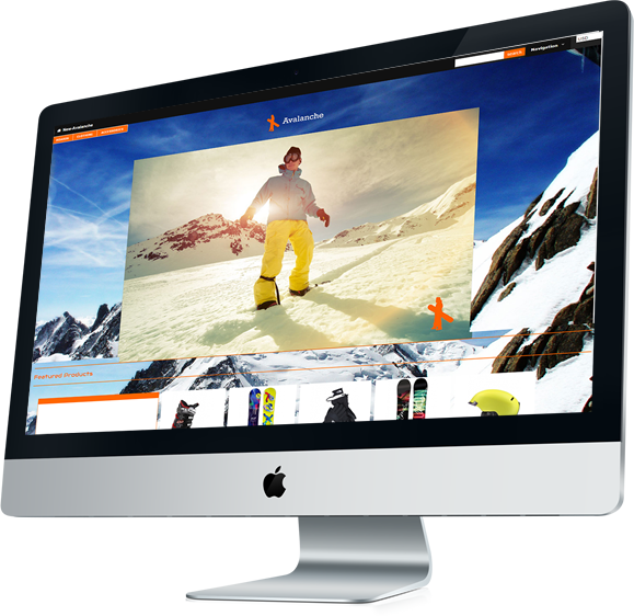 Avalanche Mac Display