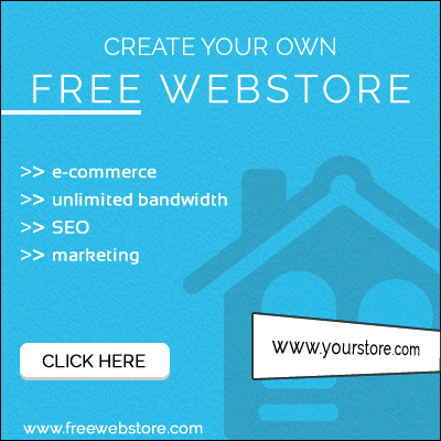 FreeWebstore.com - Create Your Own Online Store For Free!