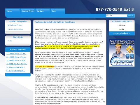 Mini Split Air Conditioner Installation Prices