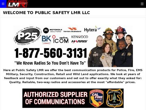 PUBLIC SAFETY LMR LLC