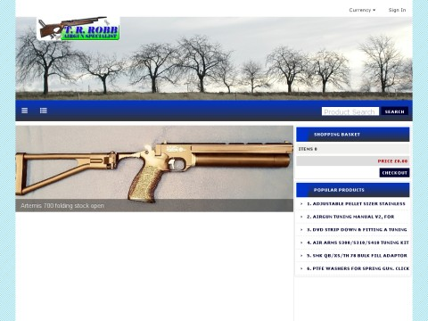 Spring airgun tuning kits