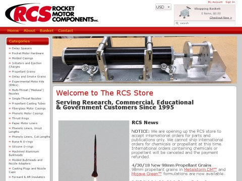The RCS Store