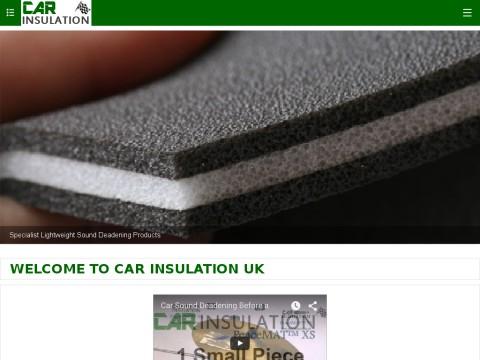 V on For Car Hood Insulation Material