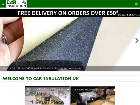 Car Insulation Uk The Car Soundproofing Van Insulation