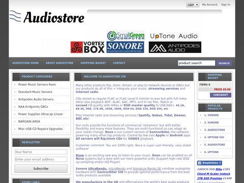 Audiostore vortexbox