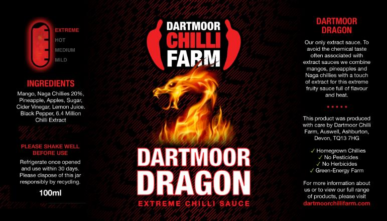 dartmoor dragon sauce