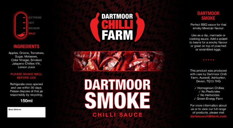 Dartmoor smoke sauce from Dartmoor chilli farm