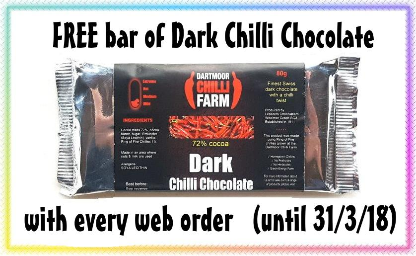 free chilli choc offer
