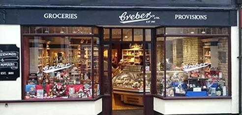 Crebers delicatessen in Tavistock