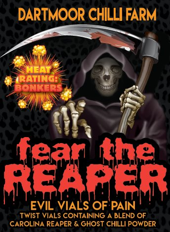 fear the reaper vial