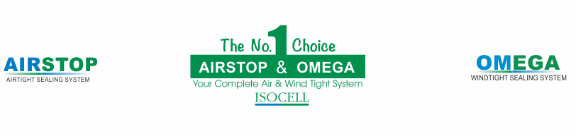Isocell Airstop Airtight Tapes