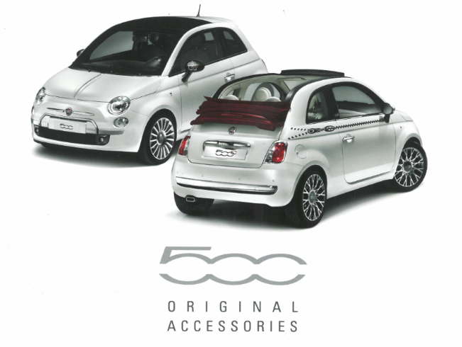 Fiat Accessory Brochure | Fiat Accessories Brochure | Fiat