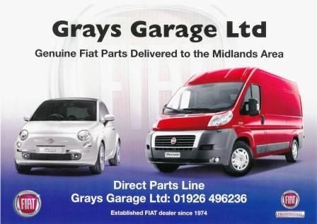 Grays Trade Fiat Parts