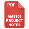 AM8109 Project Notes
