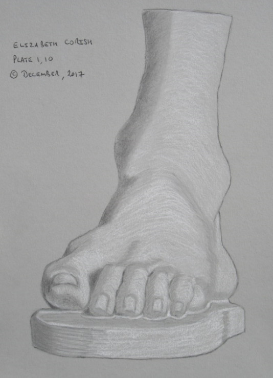 Plate 1 - 10: The foot of Germanicus