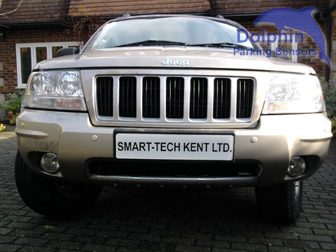 Parking Sensors on Jeep CRD