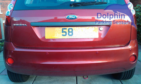 Ford Fiesta Style parking sensors