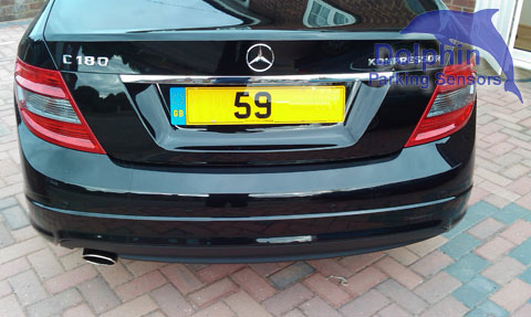 Mercedes C180 Kompressor Reverse Parking Sensors