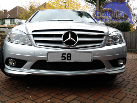 Parking Sensors on Mercedes