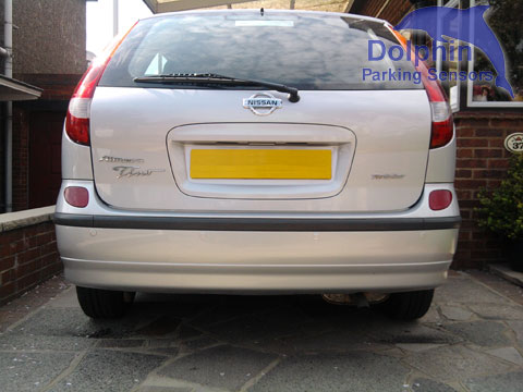 Parking Sensors fitted to Nissan Almera Tino Twister