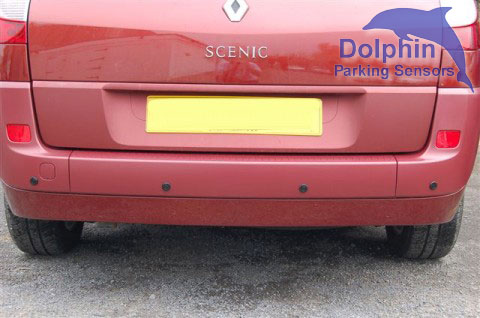 Finished installation of parking sensors