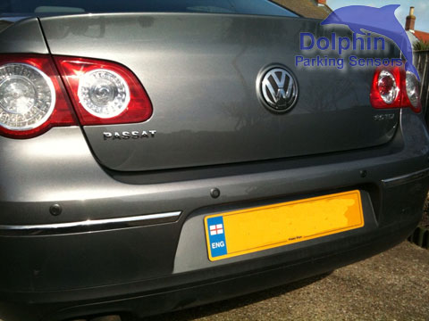 Parking sensors fitted in to the bumper