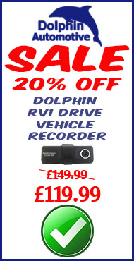 Dolphin RV1 In Car Event Recorder 20% off Sale