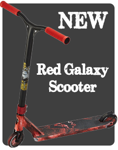 Red Galaxy Scooter