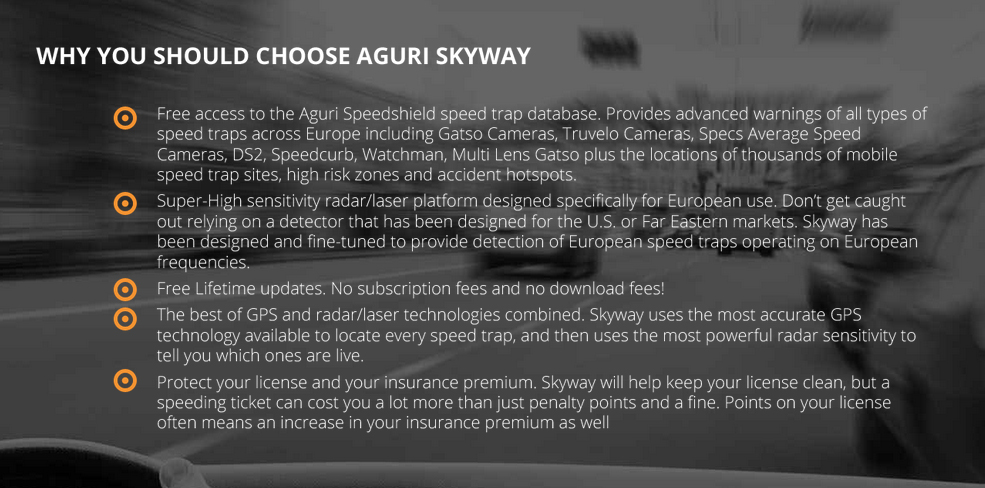 Aguri Skyway why you need it