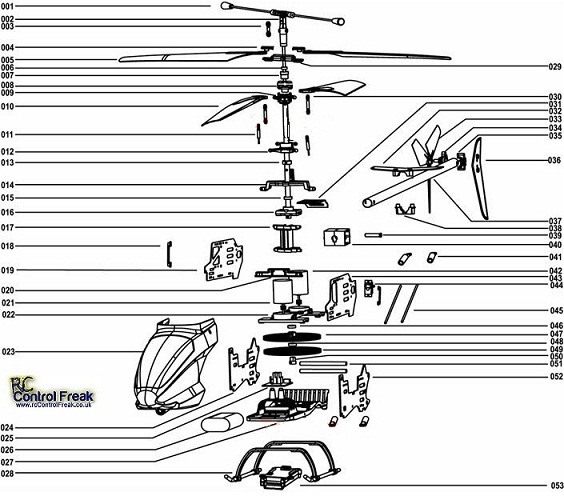 MJX T-40 Instruction Manual - English
