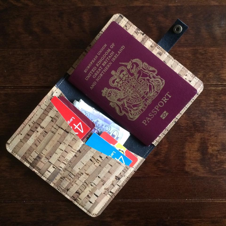 Cork Passport Holder