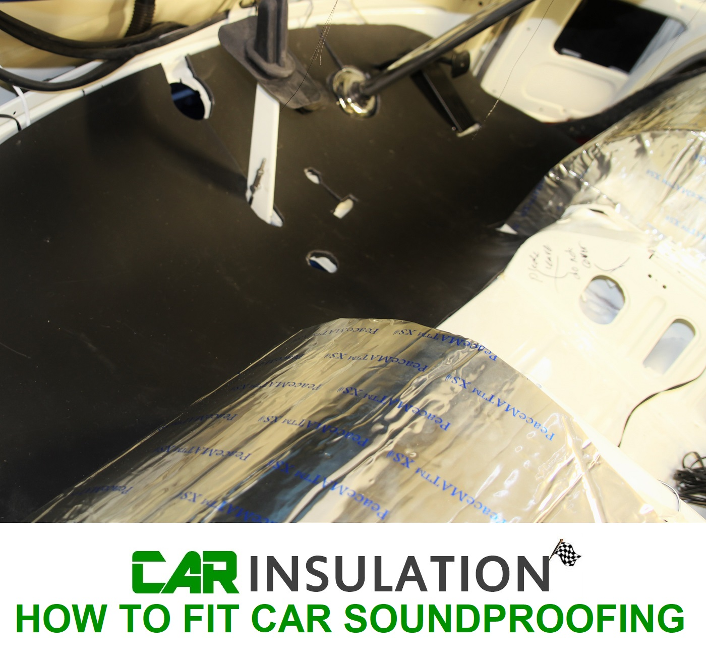 How to fit car sound insulation materials